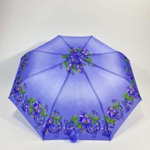 Semi-auto 3 fold umbrella (1)
